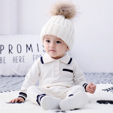 Baby Boys Knitted Romper Newborn Infant Cotton Coveralls Spanish Kids Long Sleeve Jumpsuit Fashion Toddler Baby Clothes Outfits