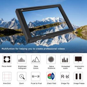 Image 1 - Feelworld FW279S 7 inch 3G SDI 4K HDMI DSLR Camera Field Monitor Ultra Bright 2200nit Full HD 1920x1200 LCD IPS for Outdoors New