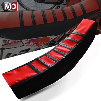 For Honda CR CRF CRM SL 125 150 230 250 450 480 500 50 80 85 1000 X R L F M RX AR RWE RALLY Motorcycle Rubber Soft Seat Cover image