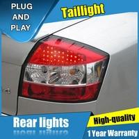 4PCS Car Styling for Audi A4 B6 Taillights for 2001 2004 A4 B6 LED Tail Lamp+Turn Signal+Brake+Reverse LED light