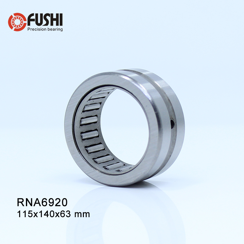 RNA6920 Bearing 115*140*63 mm ( 1 PC ) Solid Collar Needle Roller Bearings Without Inner Ring 6634920 6354920 Bearing