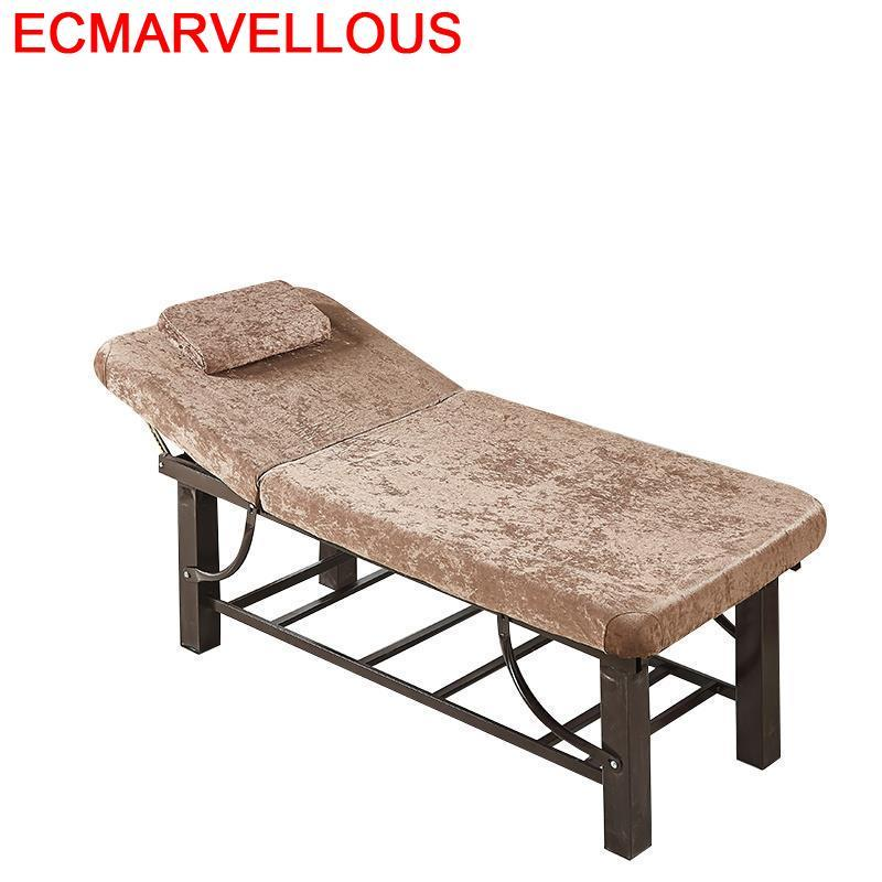 De Massagetafel Silla Masajeadora Mueble Tattoo Tafel Beauty Salon Furniture Lettino Massaggio Table Chair Folding Massage Bed