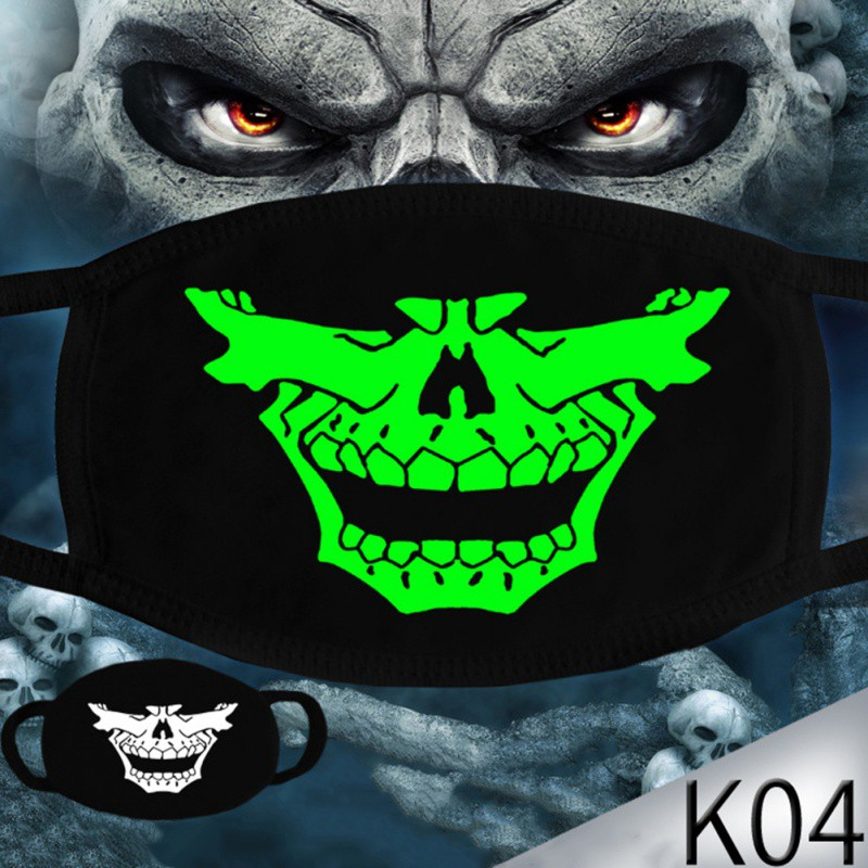 Masks Dust Protection Creative Funny Bold Open Exaggerated Pattern Personality Masks Accessories