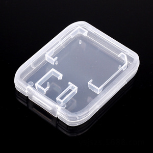 Image 3 - SD Memory Card Case TD Holder Protector Transparent Box Plastic Storage Memory Card Cases