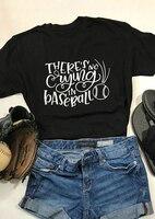 Топы гранж Tumblr Готическая рубашка там нет плача в бейсбольной футболке Женская забавная футболка с графическим слоганом 90 крутые футболки ...