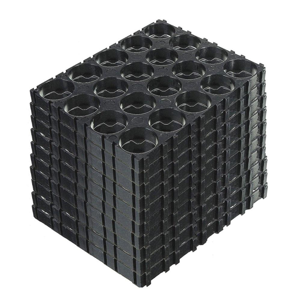 10Pcs 4x5 Cell 18650 Batteries Spacer Holders Radiating Shell Plastic Bracket VH99