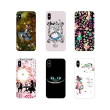 Accessories Phone Shell Covers Alice in Wonderland For Samsung Galaxy S3 S4 S5 Mini S6 S7 Edge S8 S9 S10 Lite Plus Note 4 5 8 9(China)
