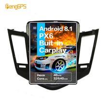 """10,4 """"Tesla Android 7,1 Radio multimedia para coche sin reproductor de DVD para CHEVROLET CRUZE 2008-2013 unidad principal de navegación GPS"""