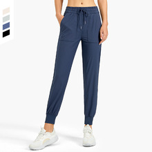 Sports Casual Trousers Women Workout Sport Loose Running Sweatpants with Pocket Female Fitness Pants Soft Jogging Pants Mujer