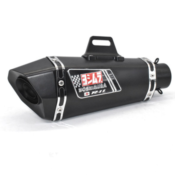 51mm Motorcycle exhaust pipe muffler for yoshimura exhaust  escape moto DB killer for Z900 MT09 KTM390 CBR R6 FZ8 universal inlet 51mm length 380mm 470mm motorcycle exhaust muffler pipe with db killer full carbon fiber motorbike exhaust pipe page 1