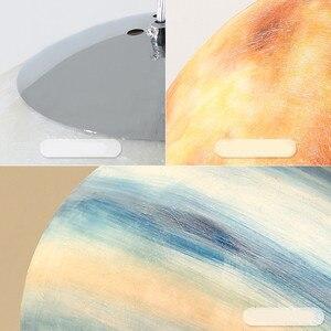 Image 5 - Galaxy Moonโคมไฟแขวนดาวเคราะห์Globeจี้ไฟคริสต์มาสเด็กตกแต่งห้องโคมไฟSaturn JUPITER Earth Sun