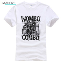 Summer Dota 2 Wombo Combo T Shirt Men Cotton Printed T-shirt Funny Game Tops Tee Camisetas Homme T365