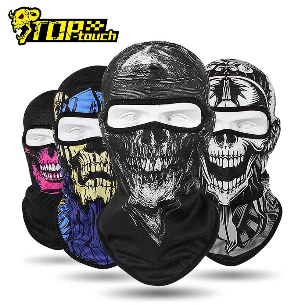 HEROBIKER Motorcycle Face Mask  Balaclava Men Quick Dry Summer Motorcycle Masque Moto Helmet Scarf Skull Mask#