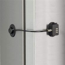 3 código freezer bloqueio de segurança 3 senha geladeira fechadura da porta à prova de crianças winodw gaveta fechadura da porta do banheiro