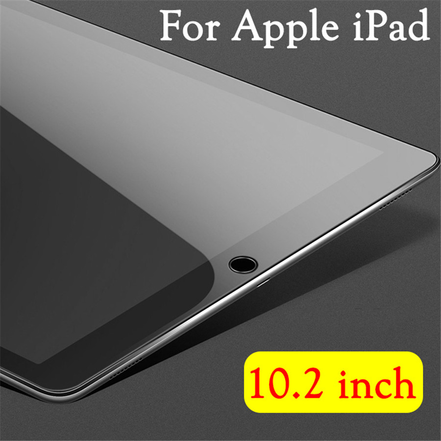 IPad10.2 Galss On The For Apple IPad 10.2 Glas Ipad7 Screen Protector I Pad 7th 7gen 7 Generation 9h 2.5D Full Cover Film Scren