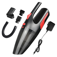 120W Rechargeable Wireless Wet Dry Car Vacuum Cleaner Mini Portable Handheld Vehicle Auto Home Cleaning Tool