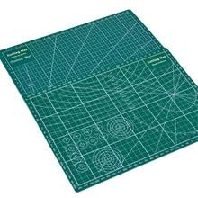 両面カッティングマットA4耐久性カットパッドパッチワークツール手作り切断プレートダーク学用品22x30x0.3cm