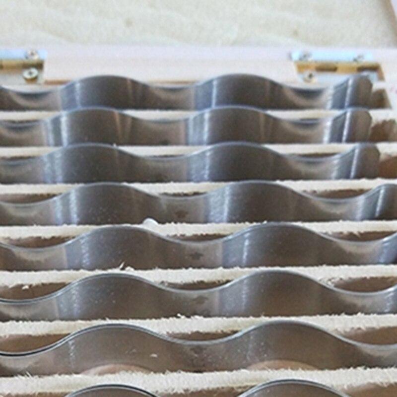 Accessoires de Machine-outil de fer parallèles ondulés métriques d'acier inoxydable pour l'ajustement - 4