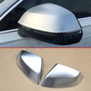 Chrome Accessories For Audi Q7 2016 2017 2018 Rear View Side Mirror Cover Trim Accessories Exterior Moulding Decoration