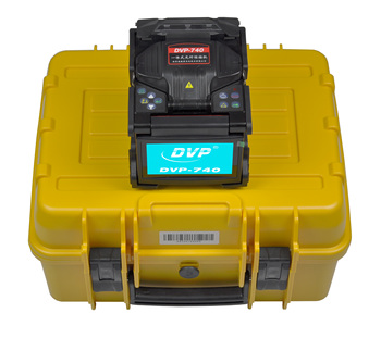 DVP-740 Digital Fiber Optical Arc Fusion Splicer for FTTx FTTH Patch Cord ,With Optic Cleaver