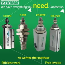 YIYUN double-acting single pole cylinder CDJP2B10-15D CDJP2B15-5D CDJP2B15-10D CDJP2B15-15D CDJP2B series