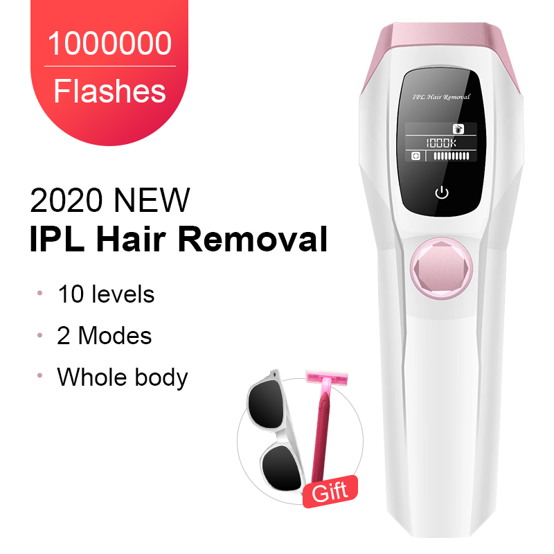 1000K Flashes Professional Permanent IPL Epilator Laser Hair Removal Painless Hair Remover Machine Bikini Trimmer Photoepilator