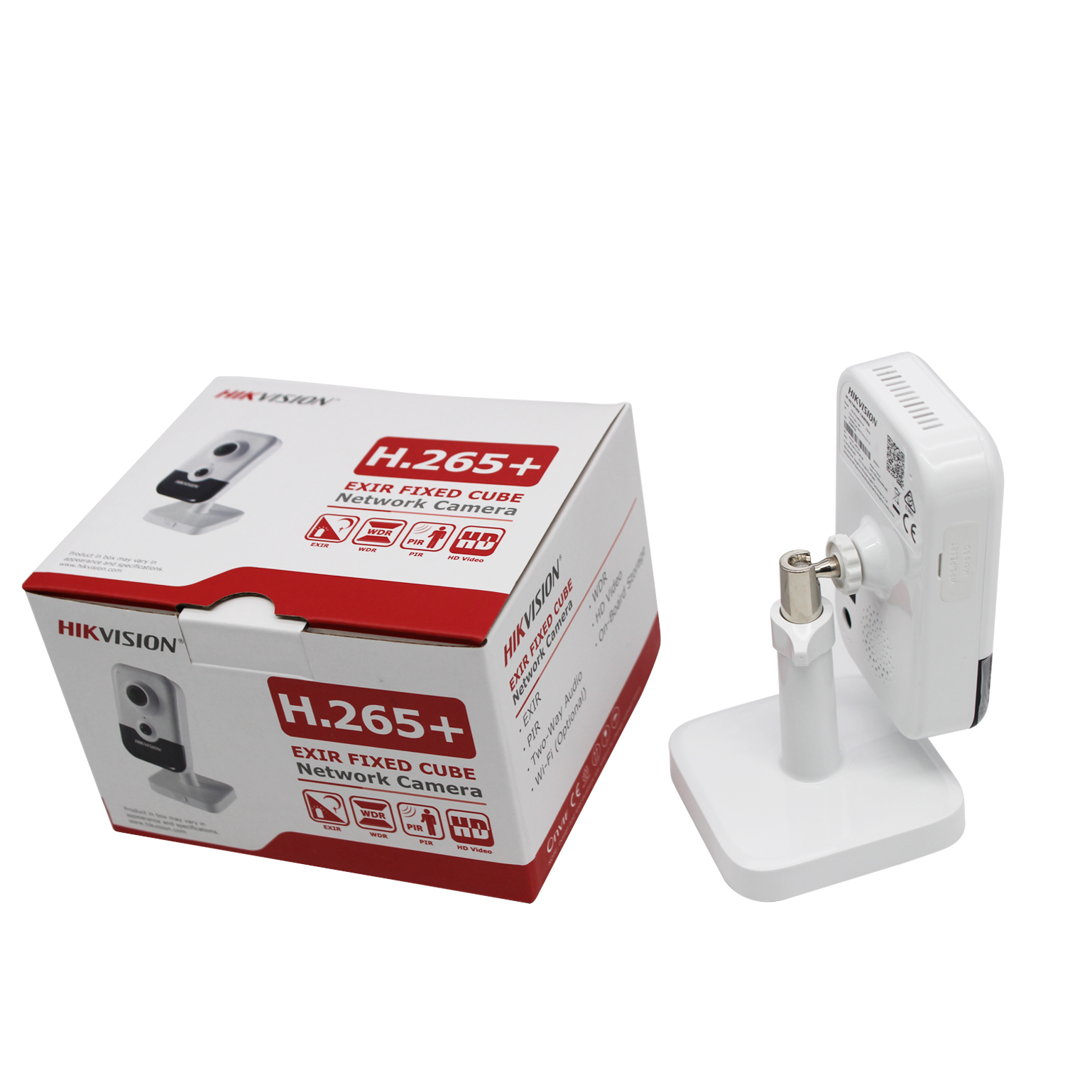 Original Hikvision 6MP WiFi cámara IP DS 2CD2463G0 IW HD cámara de seguridad inalámbrica hogareña H.265 Audio bidireccional ranura SD P2P IR 10M - 6