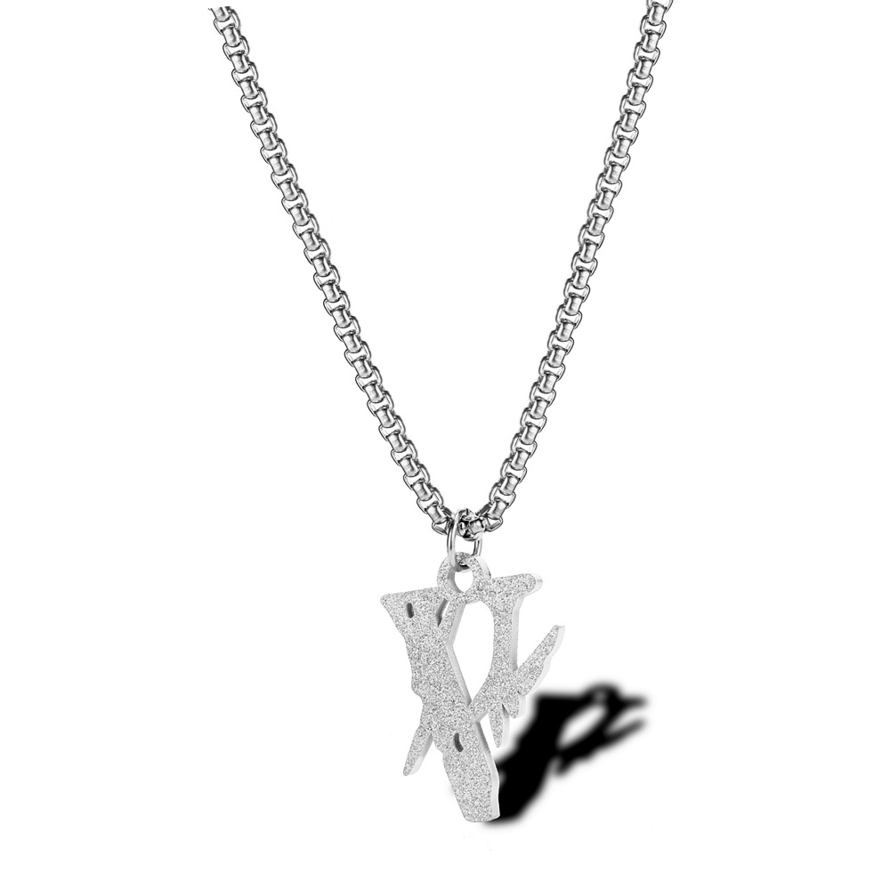 Vlone Hiroshi Fujiwara Lightning Joint Necklace Edison Popular Brand Hip Hop Disco Dancing Men And Women Does Not Fade Pendants