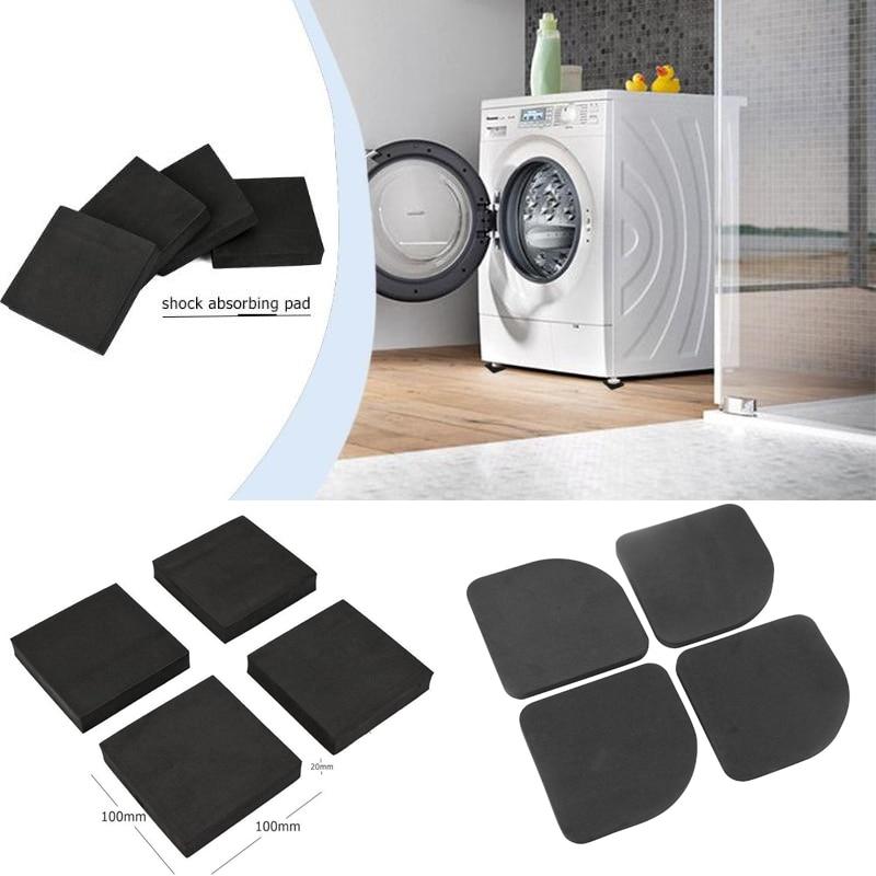 Коврик для стиральной машины, многофункциональный антивибрационный коврик, Нескользящие Коврики для холодильника, напольная защита для мебели, 4 шт.|Подкладки под мебель|   | АлиЭкспресс