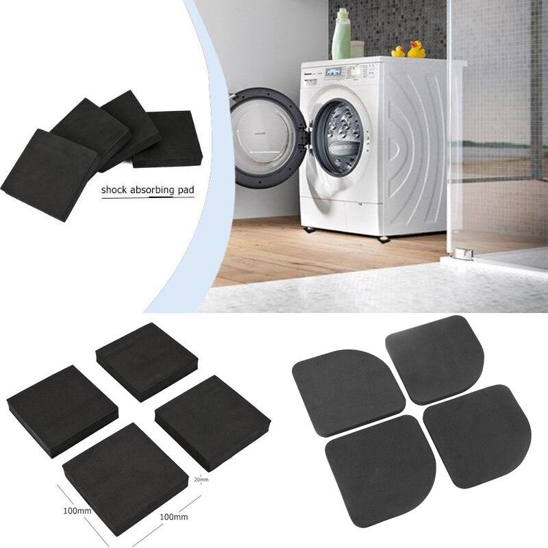 4 Pcs Refrigerator Washing Machine Pad