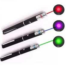 Ponteiro de visão laser 5 mw alta potência verde azul vermelho dot laser caneta luz poderosa laser medidor 530nm 405nm 650nm caneta laser verde