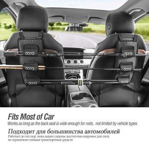 Image 5 - DONQL Fishing Rod Holder For Car Backseat Portable Fishing Pole Tie Straps Rack Universal Bracket Fishing Tackle Tool