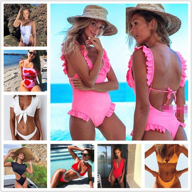 Stock Clearence, Cheapest 2019 Bikini ,Women Swimsuits ,Female Swimwear, Ladies Bodysuit, Girls Monokinis