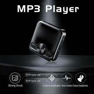 Image 3 - M9 MP3 Player Voice Recorder Portable Digital FM Radio  Support BT Function with 3.5mm Headphones Metal Rechargeable Battery