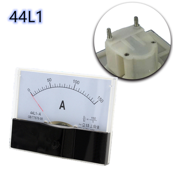 AC Analog Pointer Ammeter Ampere Meter Panel 200/5A 250/5A 300/5A 400/5A 500/5A 800/5A High Accuracy Mechanical Current Meters image