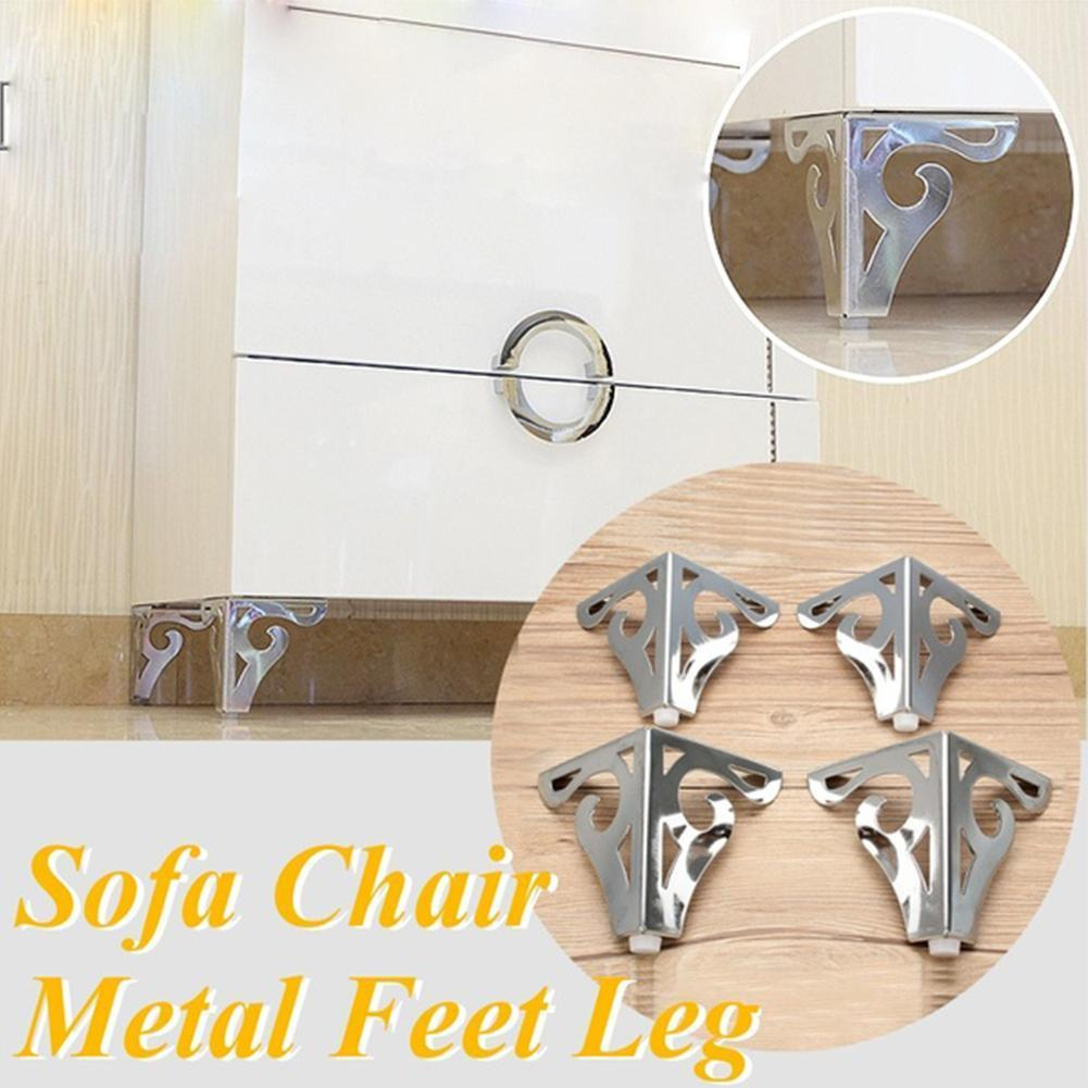 Metal Polished Sofa Chair Legs Modern Hollow Patten Bed Furniture Accessories Table 3 Color Feet Cabinet F3Z3