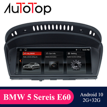 """AUTOTOP 8.8 """"2Din Android 10.0 GPS di Navigazione per E60 E61 E62 E63 E90 E91 Auto Radio Car Multimedia Bluetooth mirrorlink Carplay"""