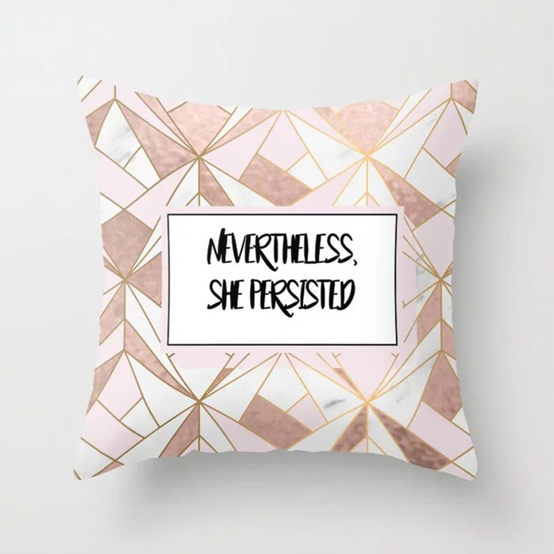 H10efc89c35e140ab9f2aab055dadcaf7N New 1PC Popular Cushion Case Geometric Tropic Pineapple Nordic Sofa Pink Pillow Decorative
