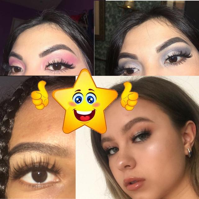 NEW 5 pairs Mink Eyelashes Set 3D 100% False Lashes Makeup Eyelash Extension faux cils Natural fluffy Volume Soft Fake Eye Lashe 5