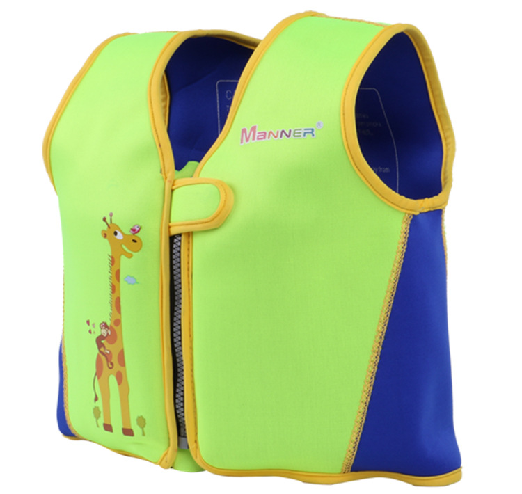 MANNER Children Fu Li Yi Learn Swimming Vest Back Floatie Removable Learn Bathing Suit Non-Professional Life Jacket Cross Border