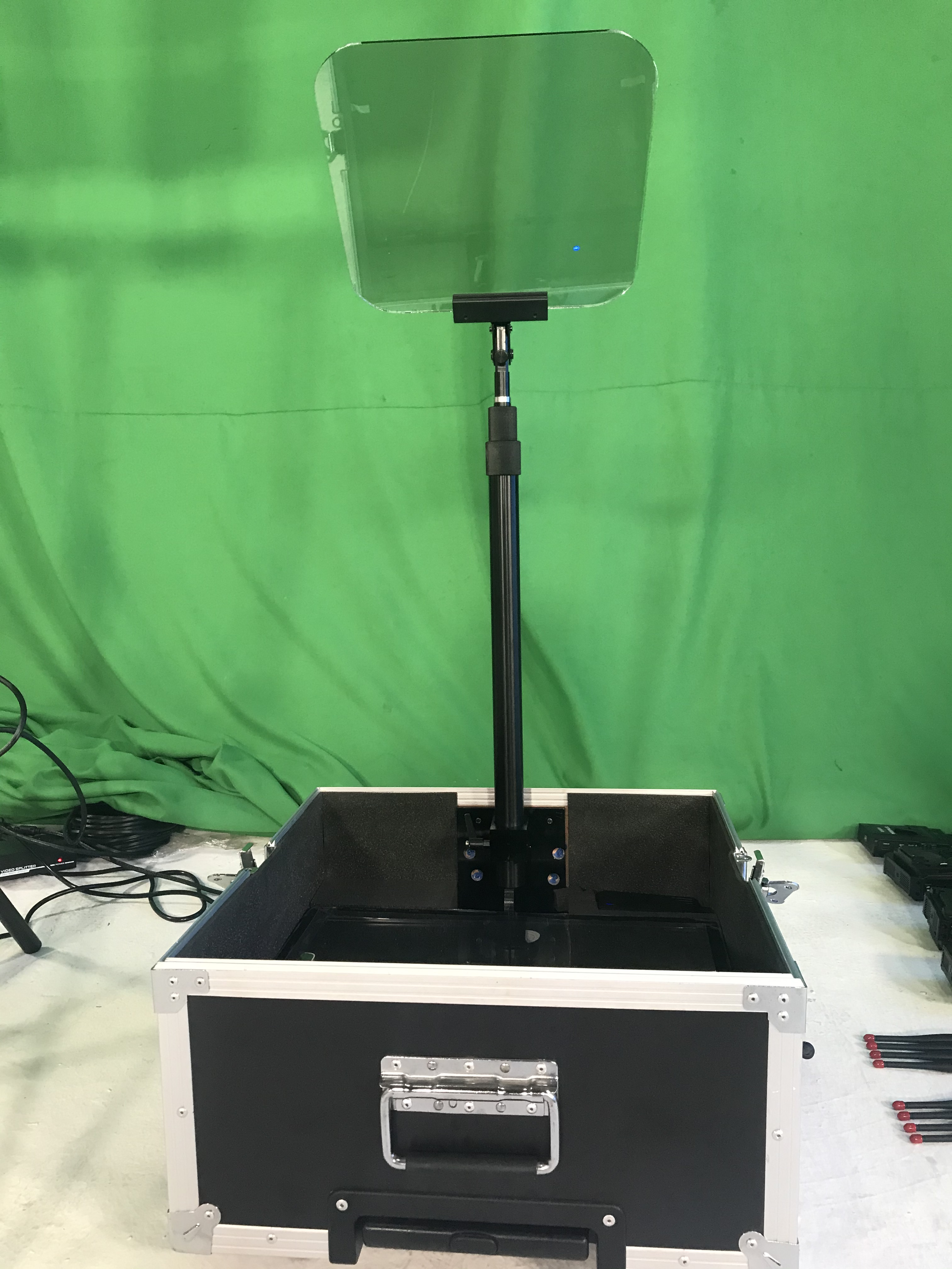 19inch presidential teleprompter high definition fast setup easy control