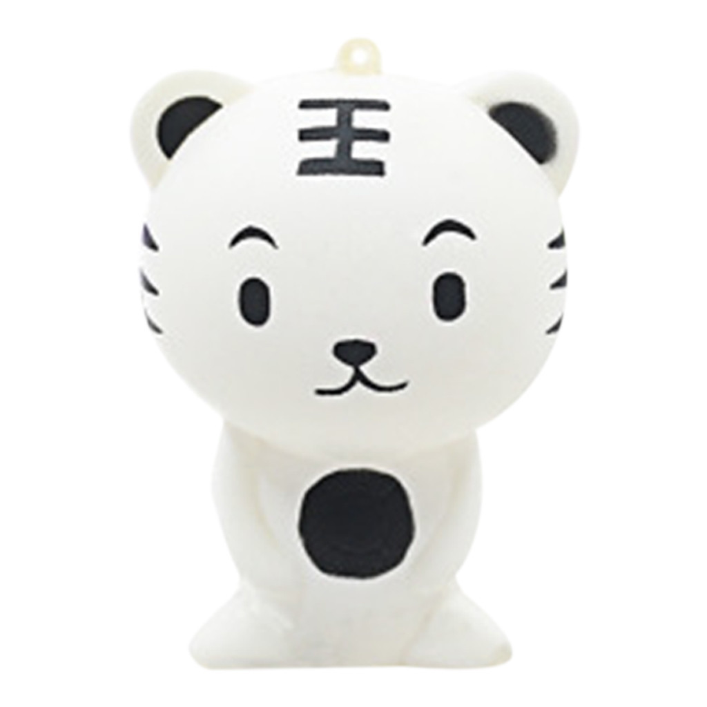 Stress Reliever Simulated Cute Bear/Tiger Slow Rising Soft Squeeze Fun Decompression Kids Toys Cute Christmas Gifts #A