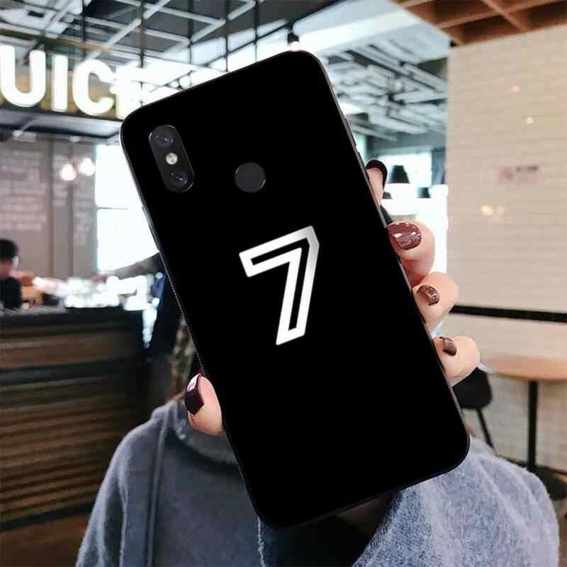 LVTLV black letter and number Soft black Phone Case for Xiaomi mi 5 6 plus 6x 8 8se 8lite 9 9se 5x case