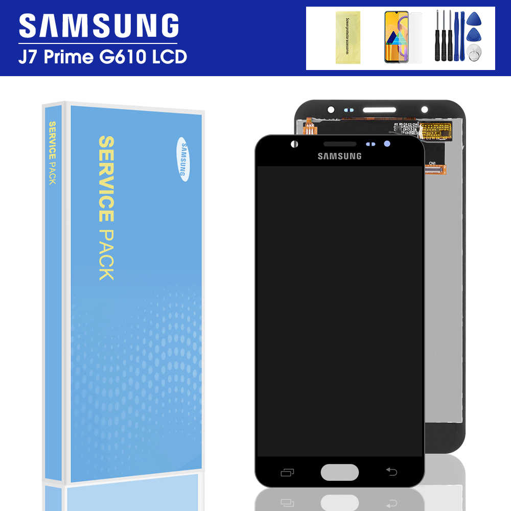 "Original 5.5 ""Display für SAMSUNG Galaxy J7 Prime LCD Touch Screen G610 G610F G610M Für SAMSUNG J7 Prime 2016 g610 LCD"