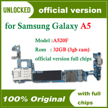 Płyta główna do Samsung Galaxy A5 A520F oryginalny odblokowany dla Galaxy A5 A520F płyta główna pełna chipy logika pokładzie darmowa wysyłka tanie i dobre opinie HHXHH Wewnętrzny for Samsung Galaxy A5 A520F Original Disassemble Unlocked Used Europe Version Shenzhen Guangdong China(mainland)