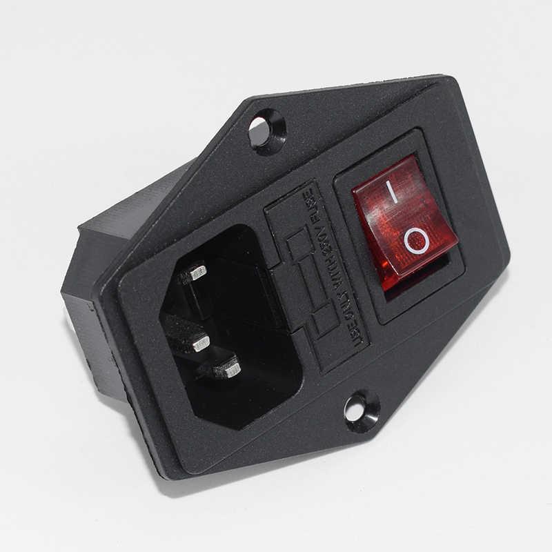 Prise de courant 3 en 1 avec porte-fusible interrupteur à bascule + connecteur de Module d'entrée de lumière NC99