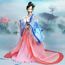 Новое поступление эксклюзивная китайская Кукла Принцесса высокого класса Коллекция лучший подарок#9115