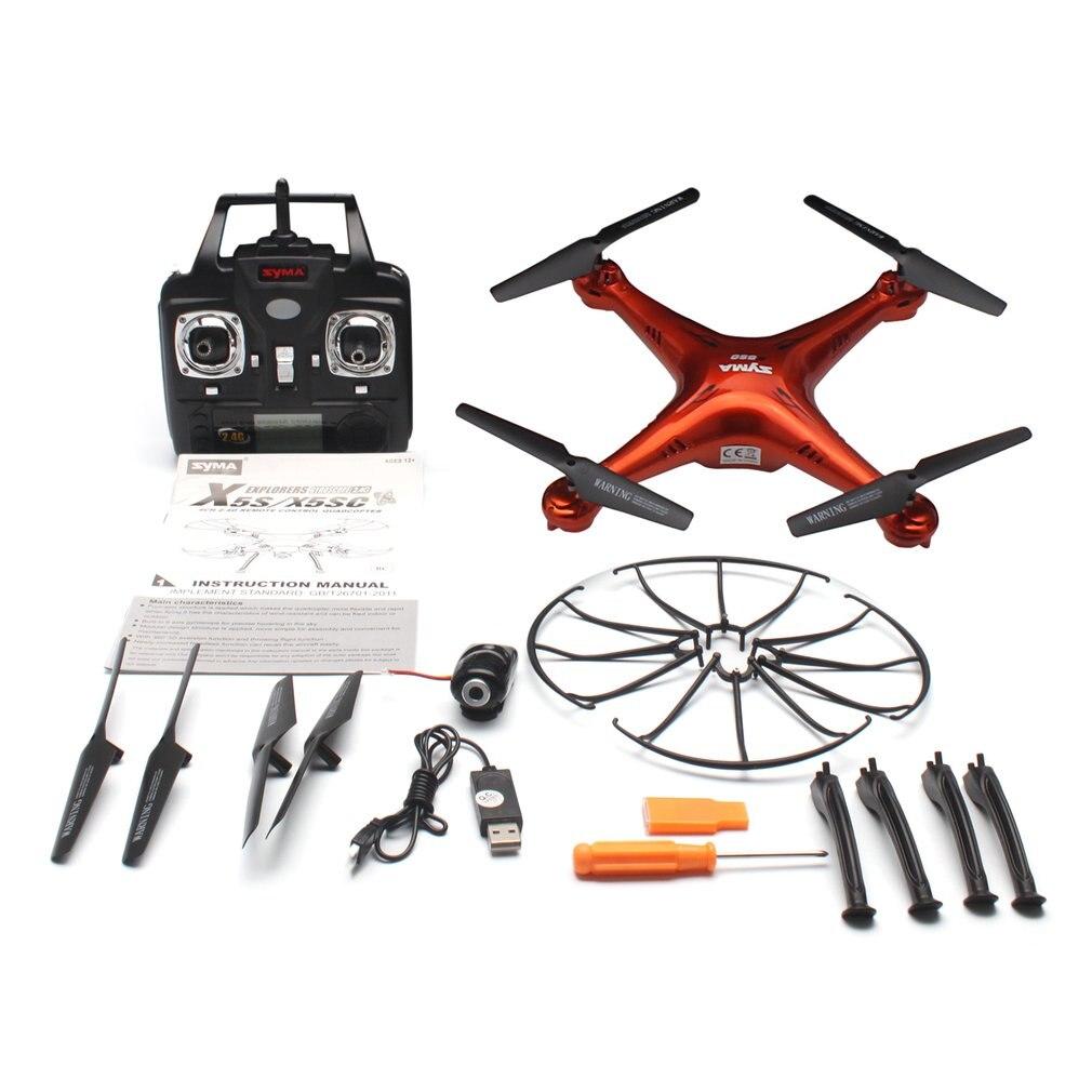 SYMA X5SC 2.4G RC Drone avion intelligent quadrirotor avec caméra HD 720P Mode sans tête 3D Flips Mode de vitesse modèle Drone SYMA X5SC