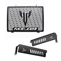 Pair MT09 2013 2016 /for Yamaha FZ09 2013 2016 Radiator Grille Guard Water Cooler Guard Radiator Cover Protector (Matte Black) S