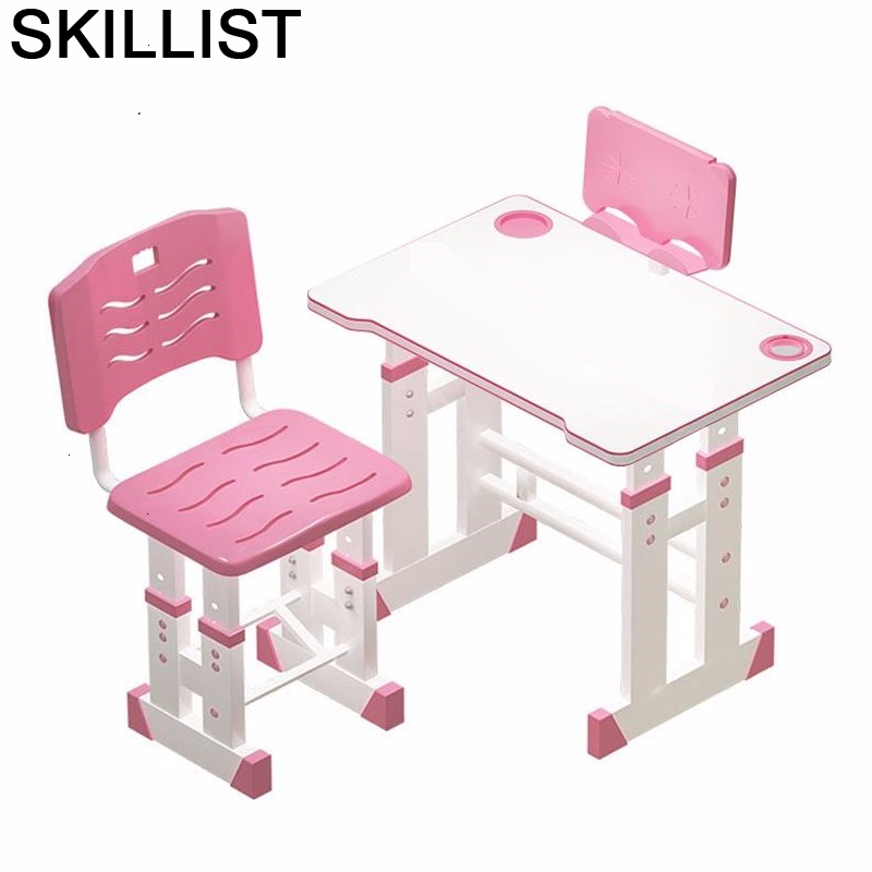 Scrivania Bambini Escritorio Y Silla And Chair Kindertisch Cocuk Masasi Adjustable Mesa Infantil Enfant For Study Kids Table